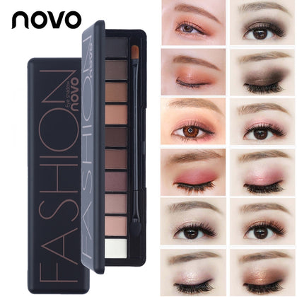 Professional Makeup Brand Earth Color 8 Colors Eyeshadow Palette - 99andco