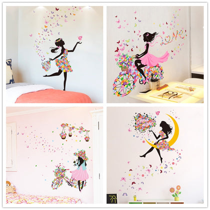 Fairy Girl Wall Stickers - 99andco