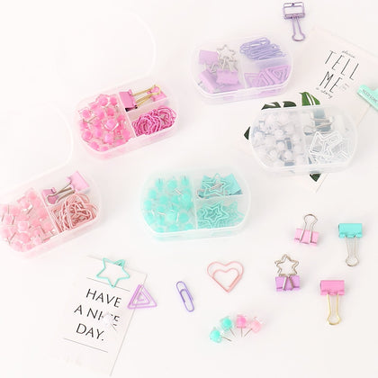 Coloful Binder clips - 99andco