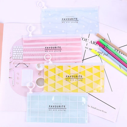 Translucent Pencil Case - 99andco