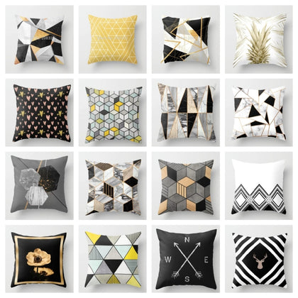 Geometric Nordic Cushion Cover - 99andco