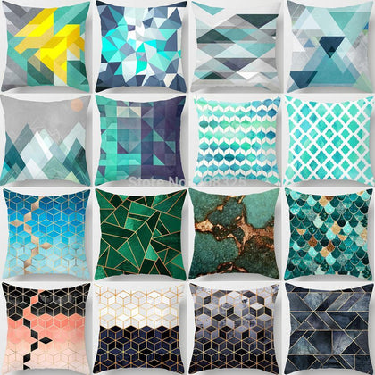 Bohemian Geometric Pillow Case - 99andco
