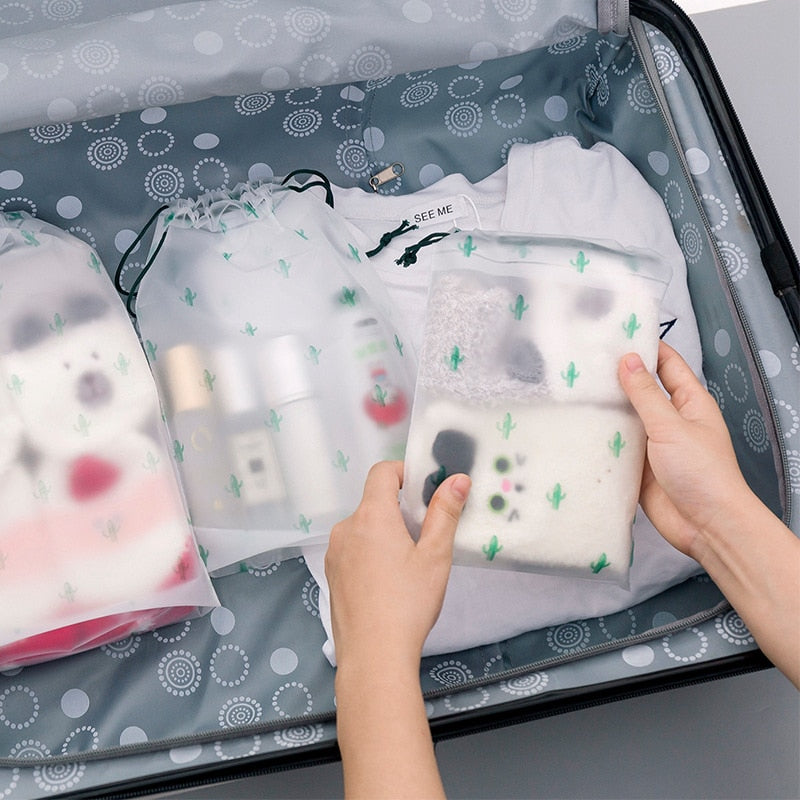 Women Transparent Cosmetic Bag