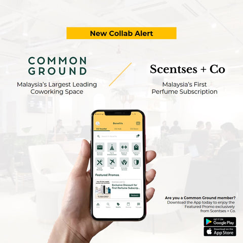 Common Ground x Scentses and Co