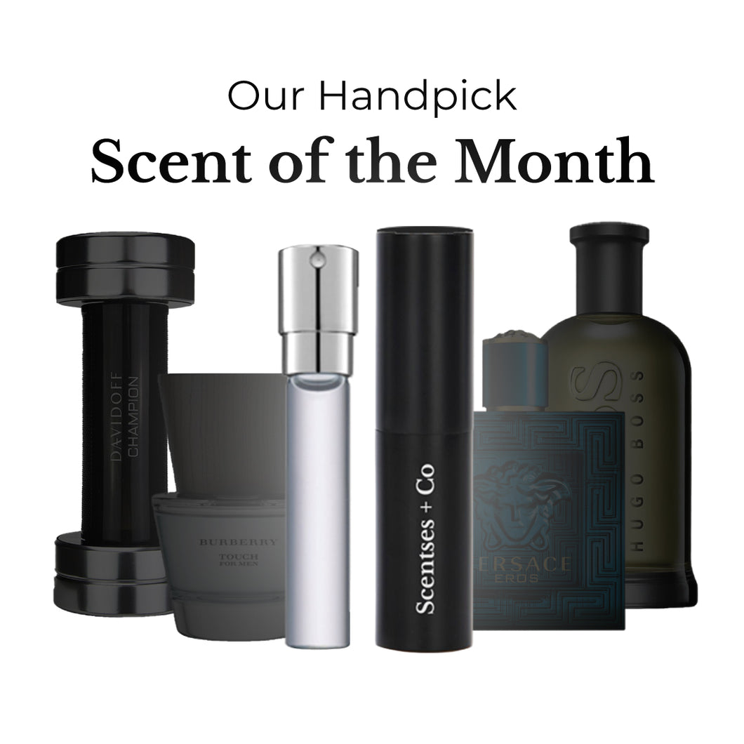 Our Handpick: Scent of the Month For Him - Scentses + Co