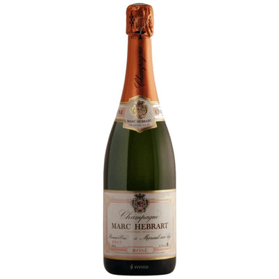Champagne Hebrart Brut Rose 1er Cru NV - Wine