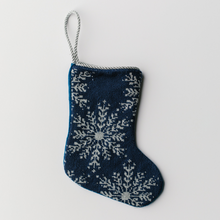Load image into Gallery viewer, Snowflakes Needlepoint Stocking