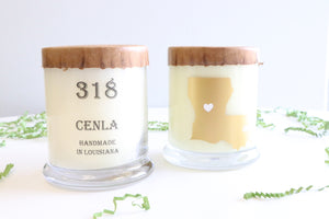 318 Cenla Candle
