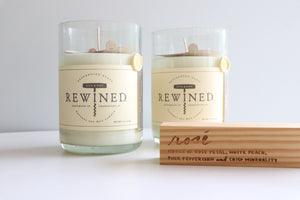 Rewined Rose Candle - Southern Chic