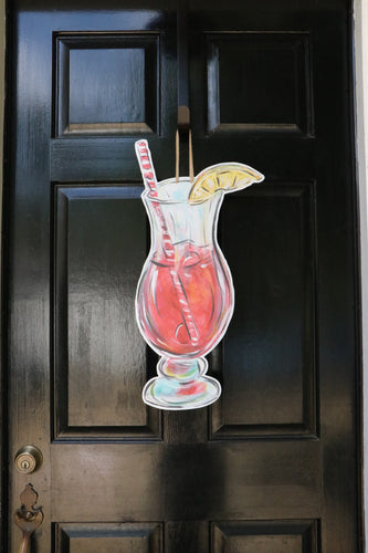 Hurricane Door Hanger