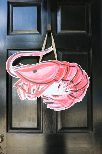 Shrimp Door Hanger