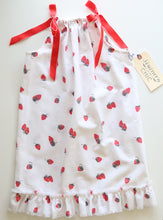 Load image into Gallery viewer, Summer Strawberry Betty Dress