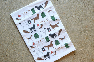 Hunting Dogs Hand Towel