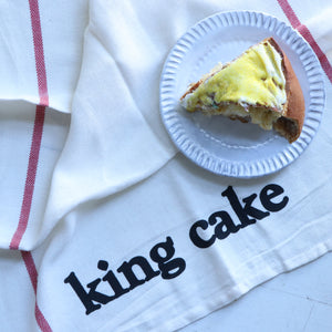 Louisiana Eats: King Cake Kitchen Towel