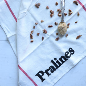 Louisiana Eats: Pralines Kitchen Towel