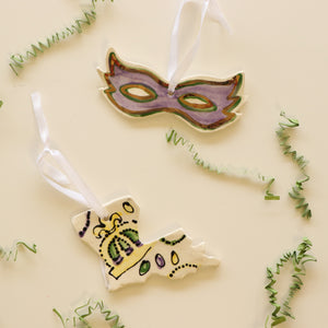 Mardi Gras Ornaments