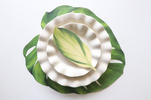 Tropical Leaf Table Accent