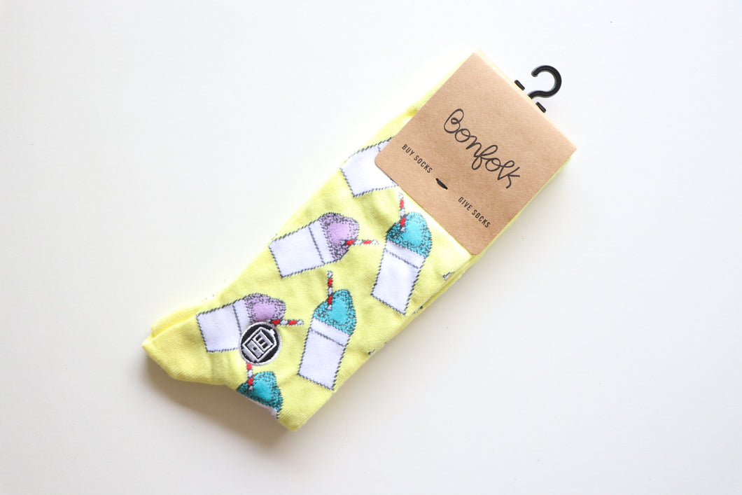 Bonfolk Snoball Socks
