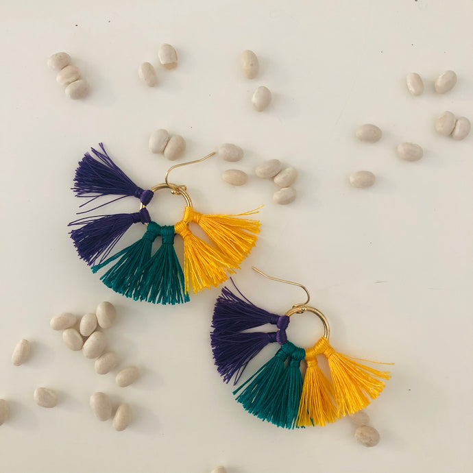 Bon Temps Tassel Earrings