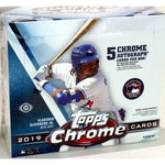 2019 Topps Chrome Baseball Hobby Jumbo Box