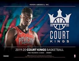 2019-20 Panini Court Kings Basketball Hobby Box