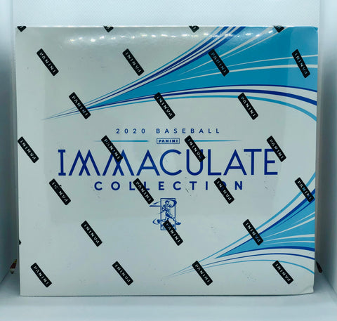 2020 Panini Immaculate Baseball Hobby Box