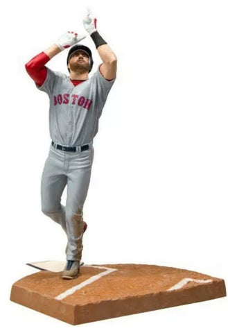 JD Martinez Boston Red Sox McFarlane MLB The Show 19 Series 1 Figure Grey Jeresy