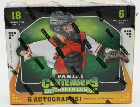 2019 Panini Contenders Draft Picks Baseball Hobby Box