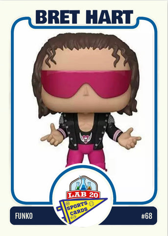 Funko POP!: WWE - Bret Hart with Jacket # 68
