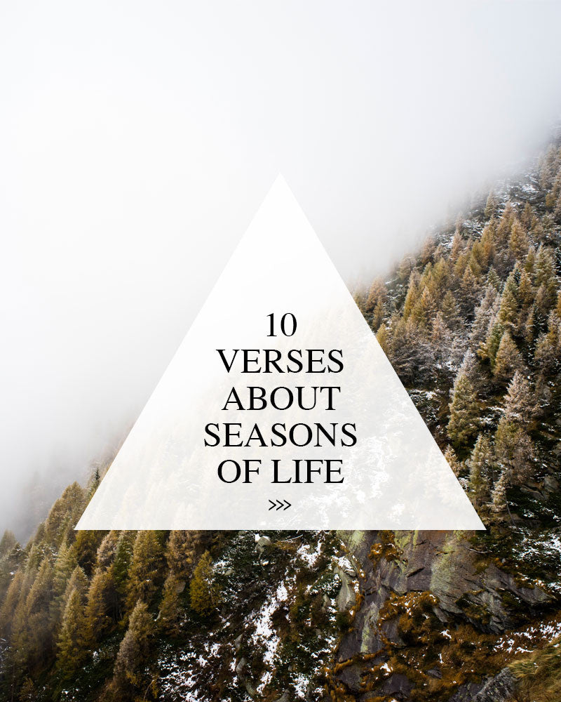 10 Verses About the Seasons of Life