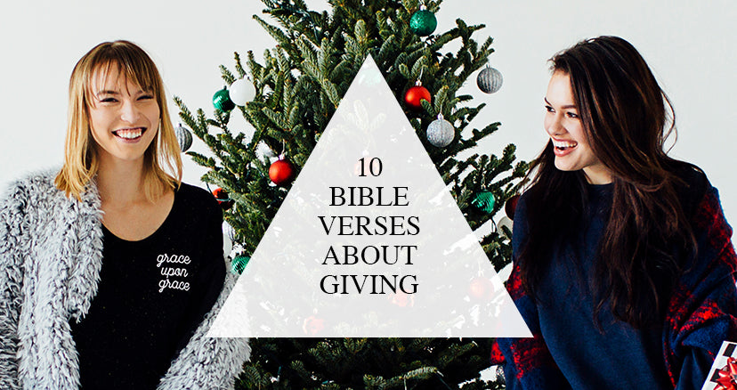 10 bible verses about giving