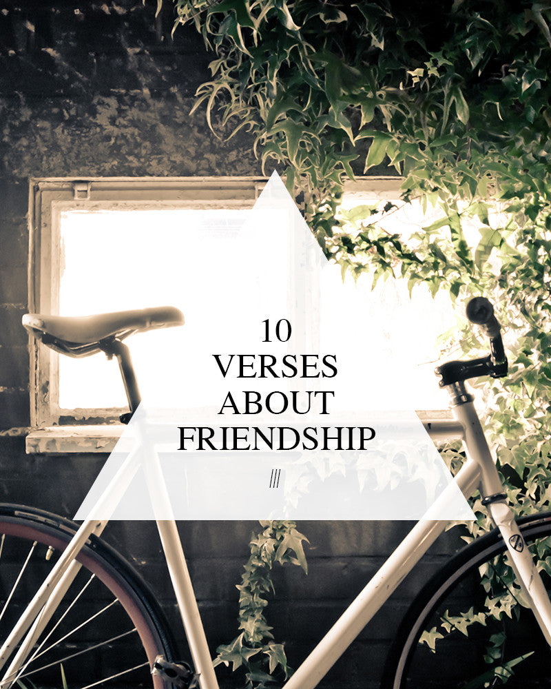 10 Verses About Friendship