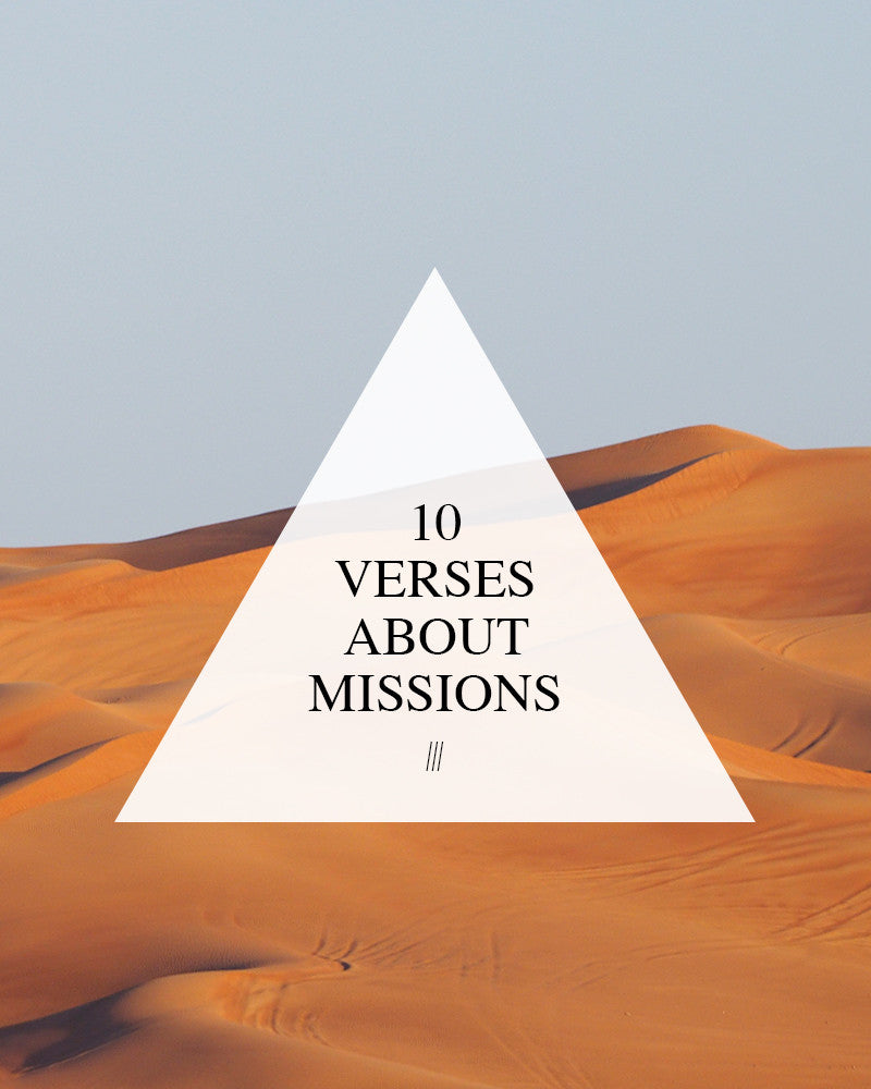 10 Verses About Missions
