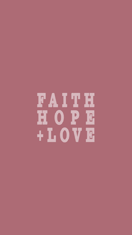 Faith, Hope, + Love - VRSLY Devotional - 08.03.17