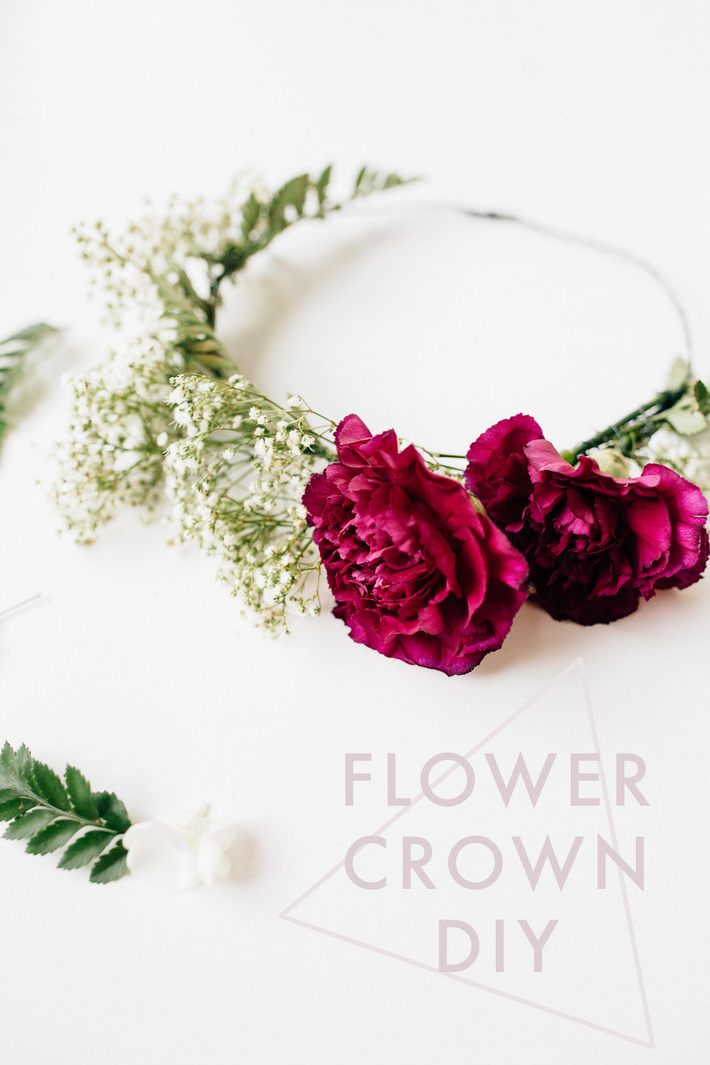 Make Your Own Flower Crown Walk In Love
