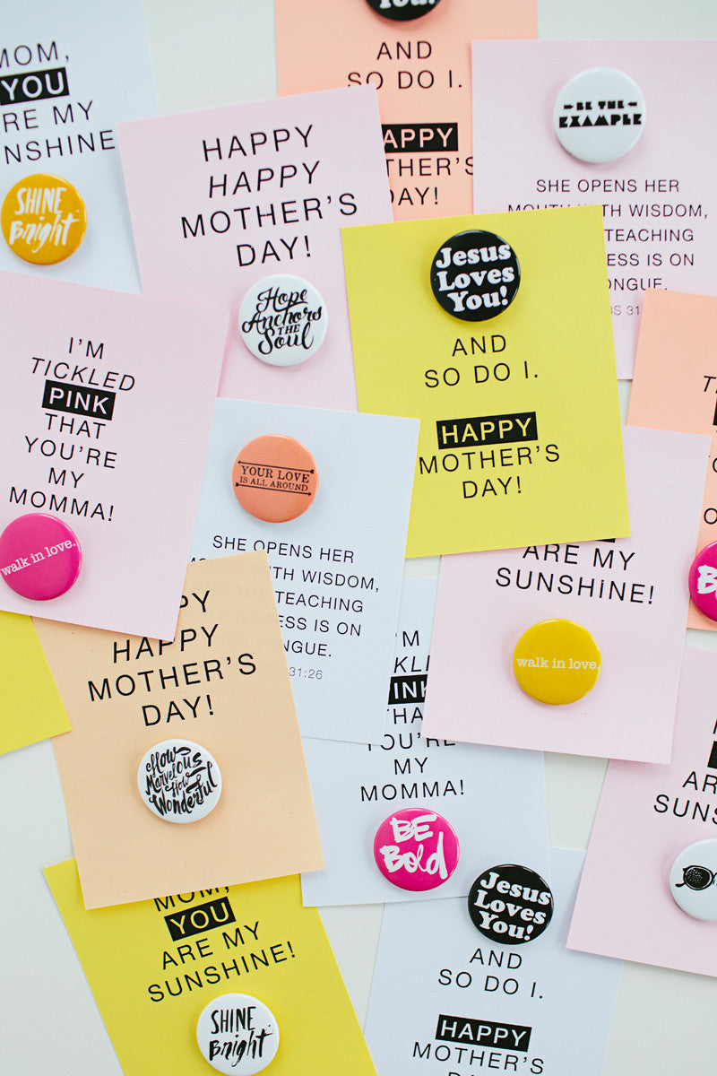 Free Printable Mothers Day Cards For Buttons Walk In Love