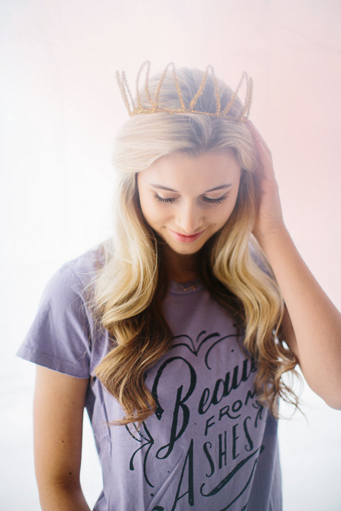 Beauty From Ashes / Lilac T-Shirt