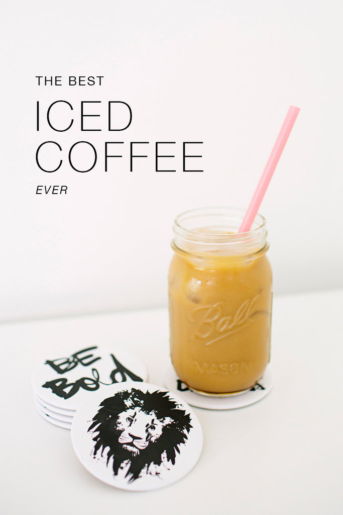 The Best Iced Coffee, Ever.