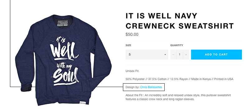 it is well with my soul sweatshirt via walk in love.