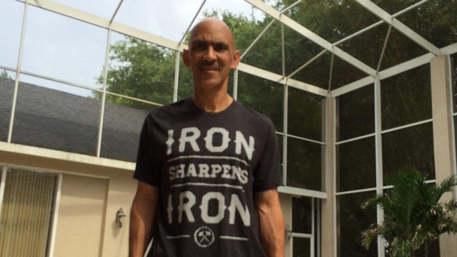 Tony Dungy Iron Sharpens Iron