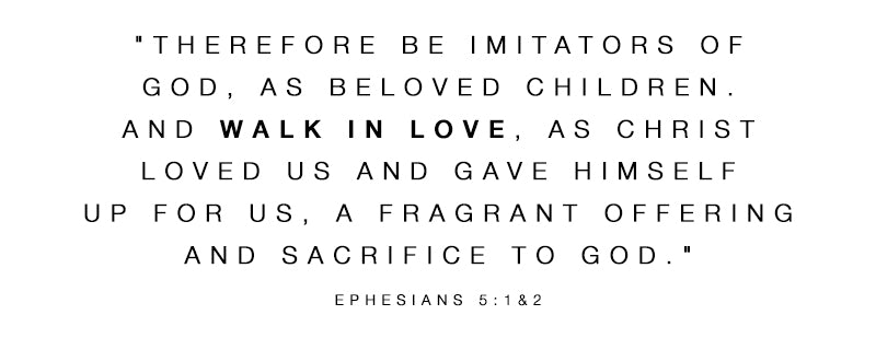 Ephesians 5:1&2, the walk in love bible verse