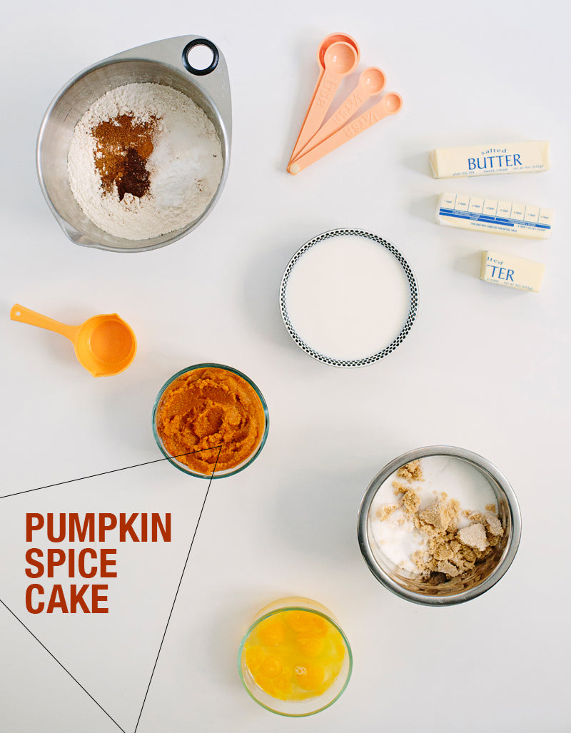 Pumpkin Spice Cake with Cream Cheese Icing – walk in love.