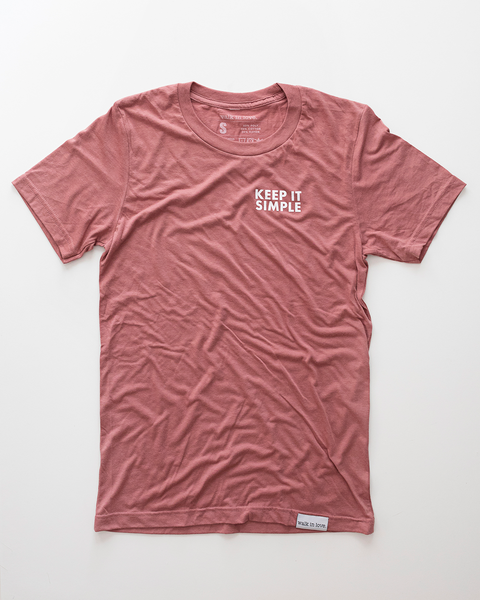 Keep it Simple Dusty Rose T-Shirt
