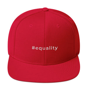 #equality Snapback Hat