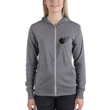 "Load image into Gallery viewer, ""Freethought"" Unisex zip hoodie"