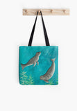 Red Brush Art Tote Bag Gift Range