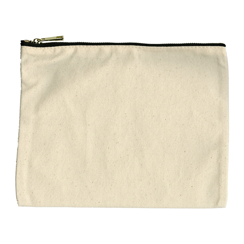 Cotton Canvas Pouch - Horse