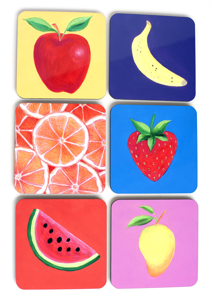 Coasters Apple