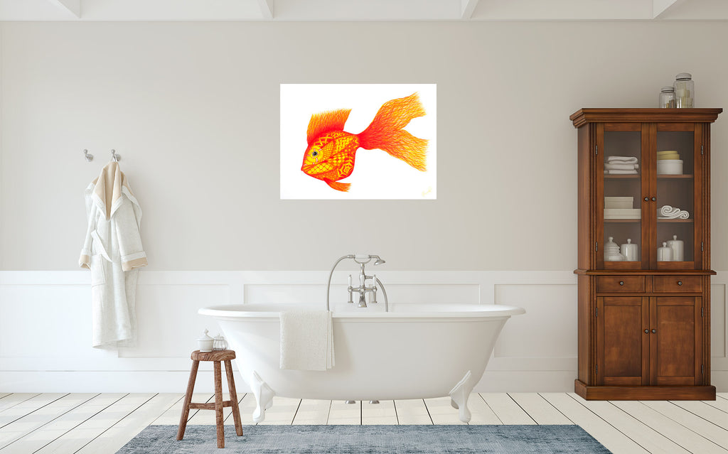 Tangled Goldfish