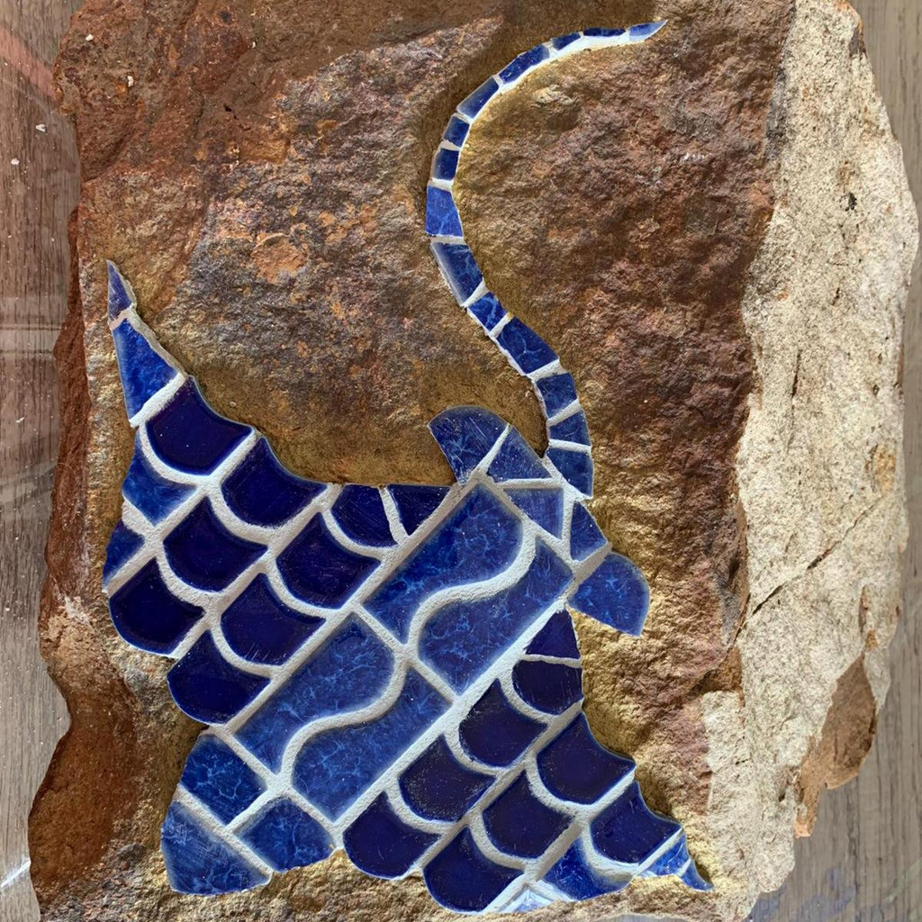 Mosaics on Sandstone Stingray
